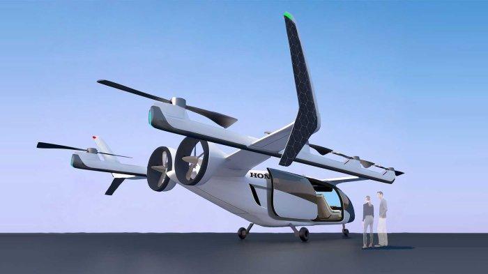 eVTOL Concept, Bisa Jadi Taksi Udara Paling Futuristik Buatan Honda