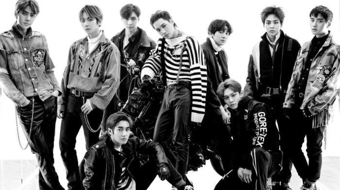 Rilis Video Musik Terbaru, EXO Tampil Menyeramkan Bak Hantu