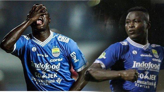 Ezechiel Ndouassel tinggalkan tim Persib Bandung untuk bergabung dengan Timnas negaranya.