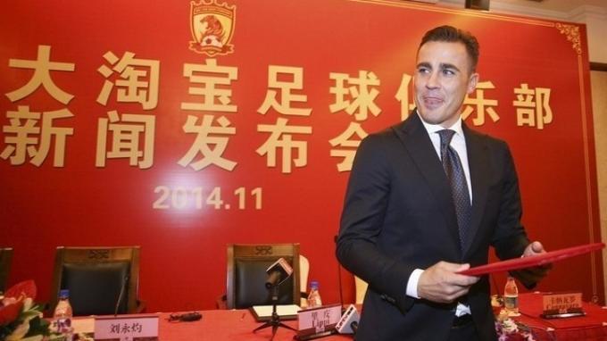 Fabio Cannavaro Terancam Gigit Jari di Liga Super China, Setelah Ada Sembilan Gol pada Satu Laga