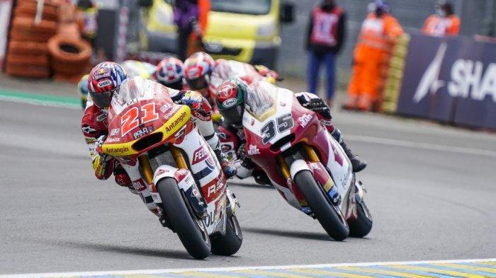 Amankan Poin di GP Prancis 2021, Pebalap Federal Oil Gresini Pertahankan Peluang Juara Dunia Moto2