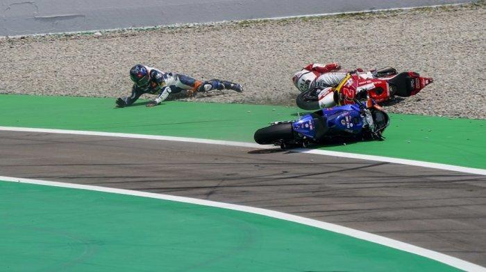 Gagal Finish di Moto2 Catalunya, Pebalap Federal Oil Gresini Optimistis Raih Poin di Sachsenring