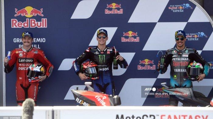Posisi Start MotoGP Spanyol 2021: Quartararo Paling Depan, Akses Link Streaming TRANS7 Gratis di HP