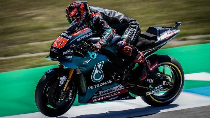 Fabio Quartararo GP Belanda Sirkuit TT Assen 2019