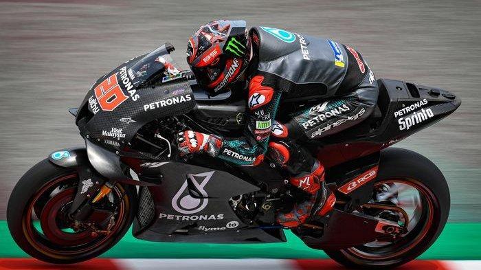 Fabio Quartararo kembali tercepat meski butuh adaptasi untuk menunggangi Yamaha YZR-M1 2020 di tes MotoGP Malaysia hari ke-2 (8/2/2020)