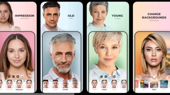 Cara Edit Foto Untuk Ikutan Oplas Challenge Yang Viral Di Instagram Gunakan Aplikasi Faceapp Tribunnews Com Mobile