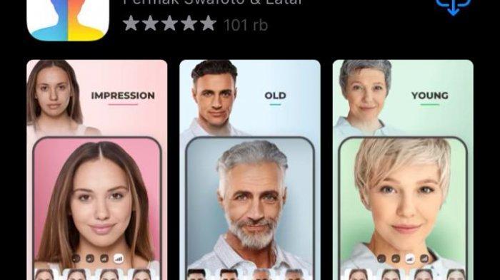 Tangkapan layar App Store
