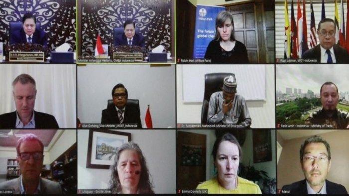 Airlangga: Peran Aktif Indonesia dalam Pembangunan Berkelanjutan Sangat Nyata