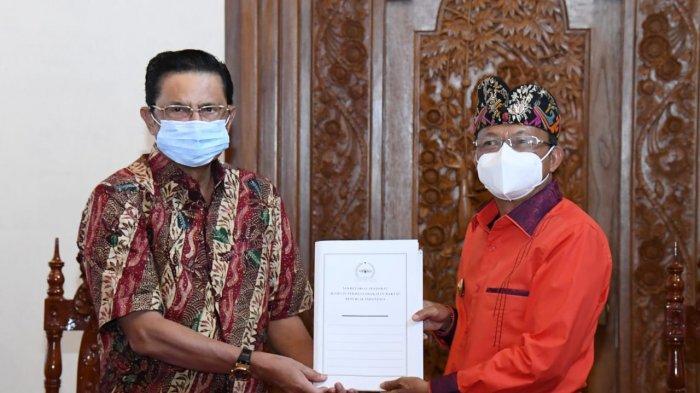 Gubernur Bali Harap MPR Dukung Percepatan Program Vaksinasi 70 Persen Masyarakat Bali