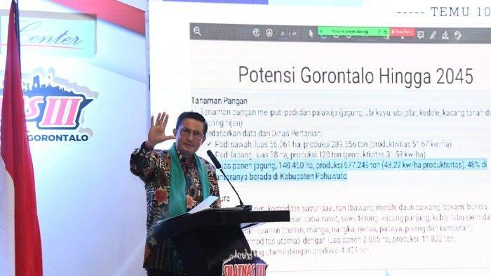 Strategi Pemulihan Ekonomi Provinsi Gorontalo Versi Fadel Muhammad