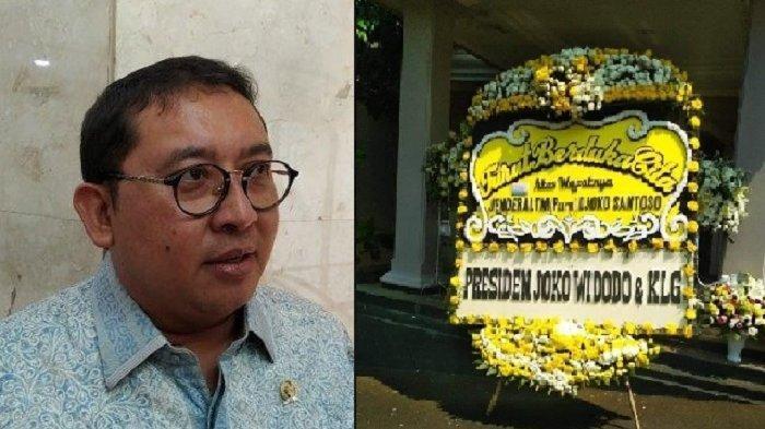 Fadli Zon Pertanyakan Ucapan Duka, Kini Beredar Foto Karangan Bunga Jokowi untuk Djoko Santoso