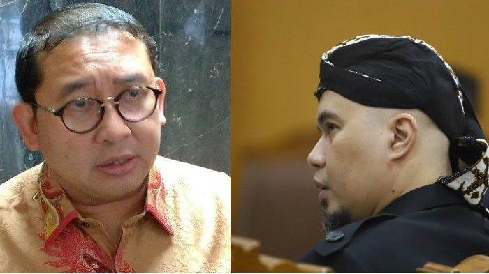 Komentari Foto Fadli Zon Bareng Ahmad Dhani hingga Once, Fahri Hamzah : Bersatulah, Jangan Diam!