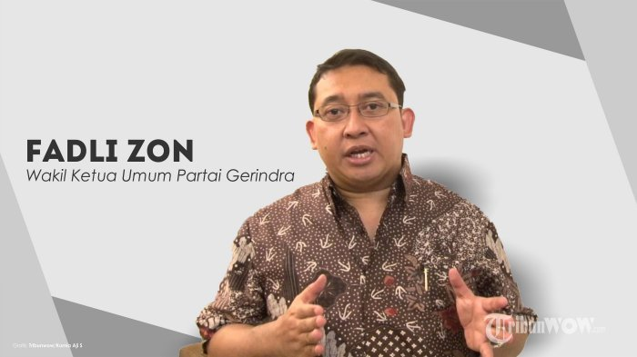 Fadli Zon Tanggapi Kicauan Pengamat soal Rupiah, Sebut Pemerintah Kelihatan tak Bisa Apa-apa