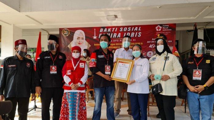 Donor Darah Maraton 44 Kecamatan, Fahira Idris Targetkan Sumbang 6.600 Kantong Darah