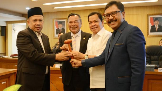 Hasrul Azwar Jadi Wakil Ketua BURT, BURT Perlu Terobosan Baru