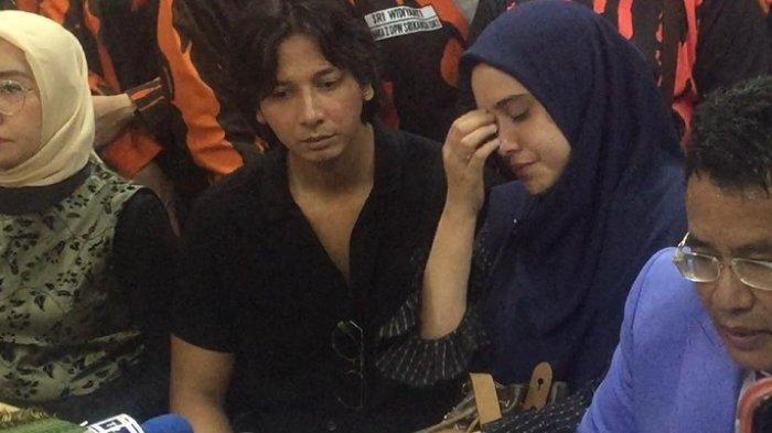 Hotman Paris, Fairuz A Rafiq dan Sonny Septian datangi Komnas Perempuan, Jakarta Pusat, terkait kasus 'ikan asin', Senin (8/7/2019).
