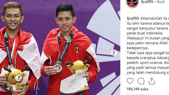 Fajar Alfian, Peraih Medali Perak Asian Games Itu Ternyata Calon Guru