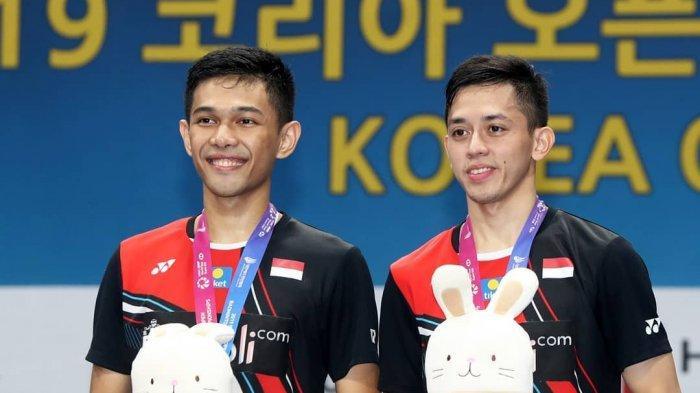Update Korea Open 2021 - Indonesia Tanpa Minions, Panggung Fajar/Rian Pertahankan Mahkota Juara