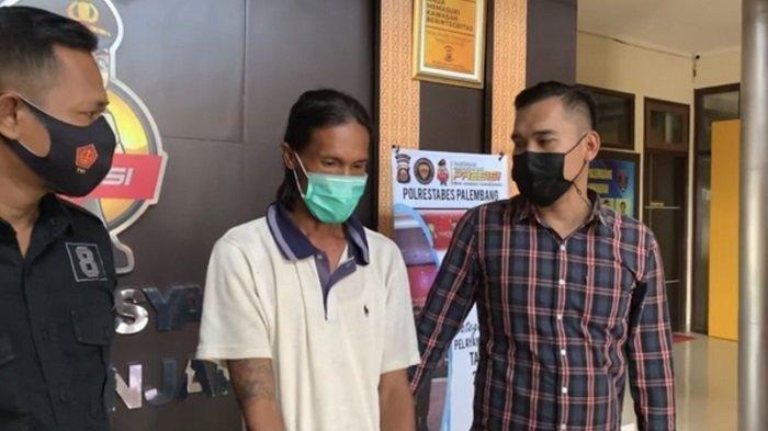 Fajri alias Mamat, pelaku penusukan terhadap korban Dessy