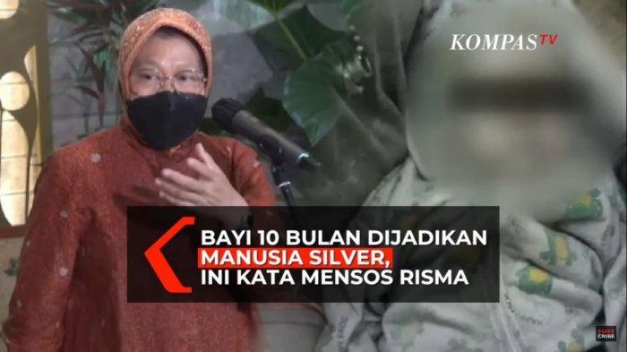FAKTA Bayi Manusia Silver di Tangerang, Dibawa Teman Ibunya Ngamen, Begini Nasibnya Sekarang