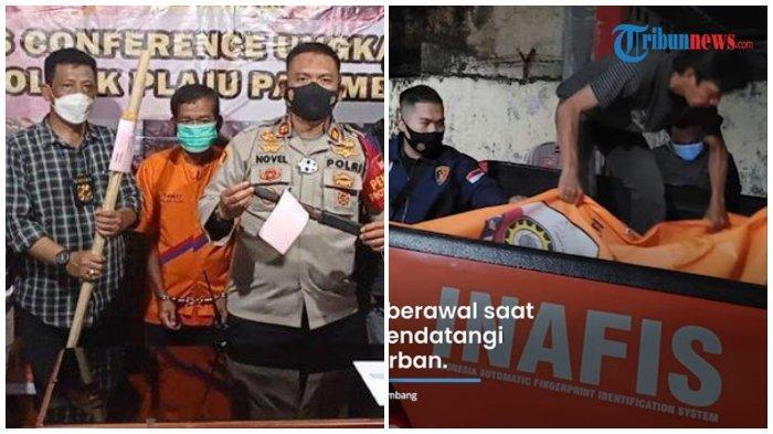Fakta-fakta Adik Habisi Kakak di Palembang, Emosi Pohon Kelapanya Ditebang, Ini Penyesalan Pelaku