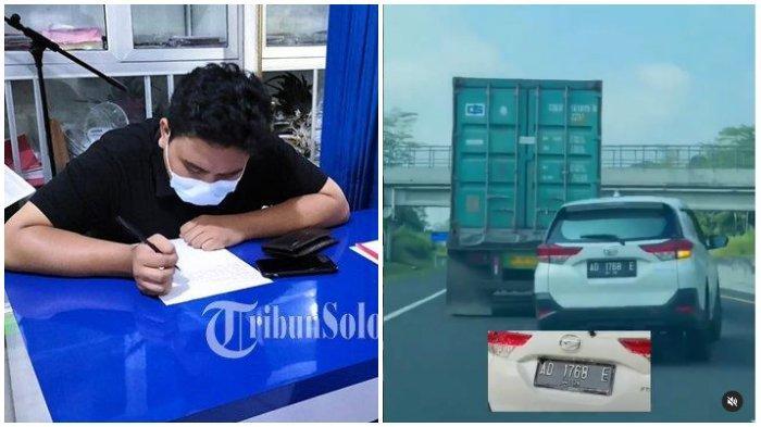 FAKTA-FAKTA Aksi Ugal-ugalan Mobil Pelat AD, Videonya Viral hingga Pengakuan si Pengendara