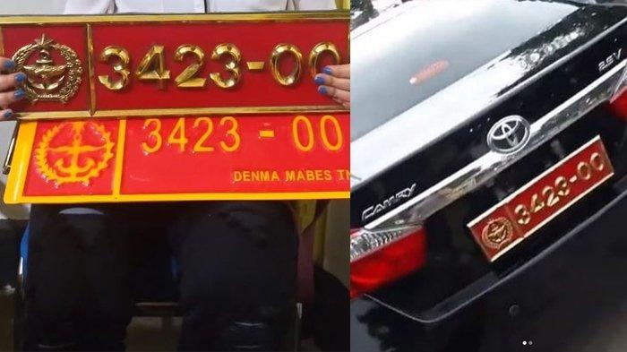 Fakta-fakta Video Wanita Pamer Pelat Mobil Dinas TNI, Keluarkan Uang Rp 1,5 Juta untuk Bergaya