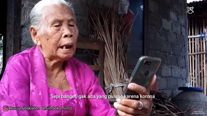 Inilah sosok Mbah Minto, nenek dari Klaten yang viral gara-gara video gagal mudik