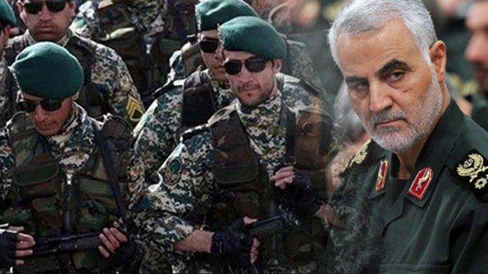 Pasukan Quds, sering disebut pasukan hantu karena tak diketahui persis jumlah personel dan strategi beroperasinya.