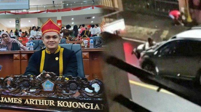 Fakta Terbaru Mobil Diadang Istri, Wakil Ketua DPRD Sulut Minta Maaf & Jabatan Ketua Harian Dicopot