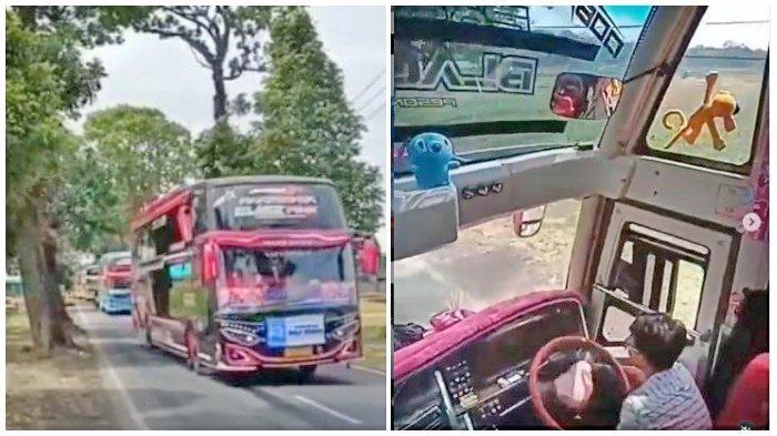 FAKTA Viralnya Bus Ugal-ugalan di Kuningan, Pihak PO Kaget Didatangi Polisi, Sopir Dijatuhi Sanksi