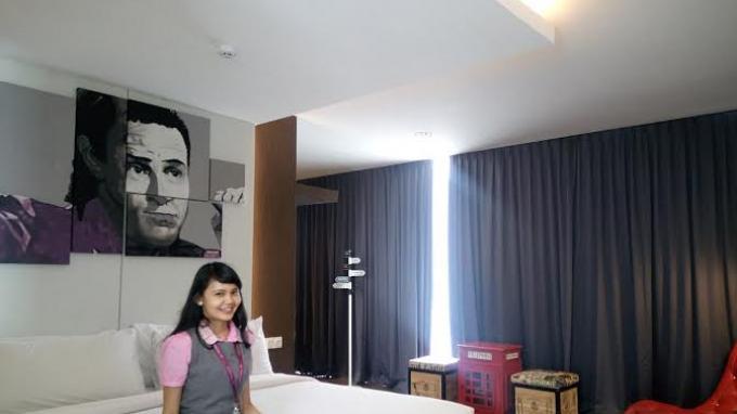 Membidik Segmen Anak Muda, Begini Cara Hotel Fame di Batam Mendesain Interior dan Kamar