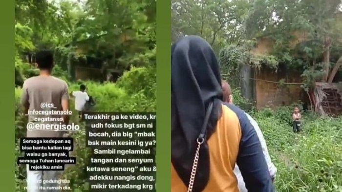 Keluarga yang Tinggal di Sebuah Kebun di Solo Dapat Bantuan, Warga: Lokasi yang Ditempati Tak Layak