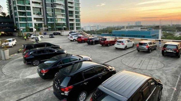 Park and Dine Lippo Mall Puri, Tempat Nikmati Menu Restoran Sambil Lihat Senja di Parkiran Mal