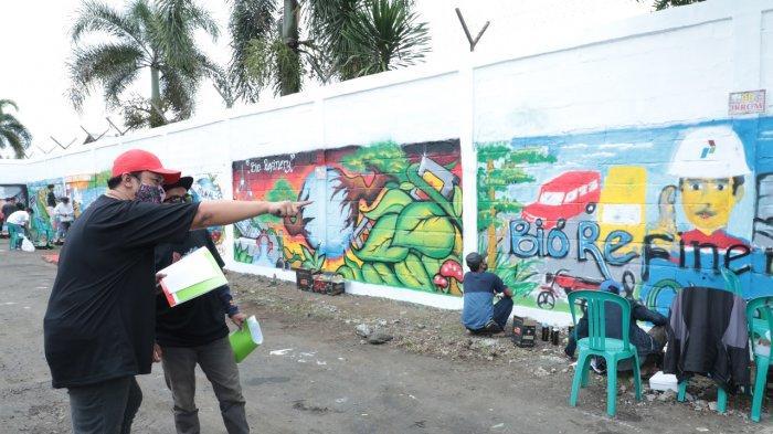 Fasilitasi Kreatifitas Seni Mural, Kilang Pertamina Cilacap Gelar Lomba Seni Menghias Dinding