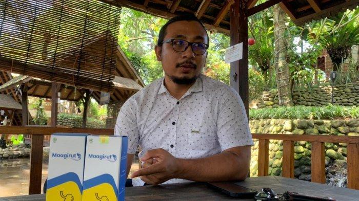 Fauzi Rakhmat pemilik brand obat herbal bernama Maagirut