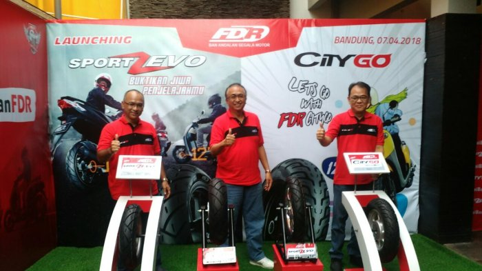 FDR Hadirkan Sport Zevo dan City Go, Dua Pilihan Ban Spesialis Motor Matik
