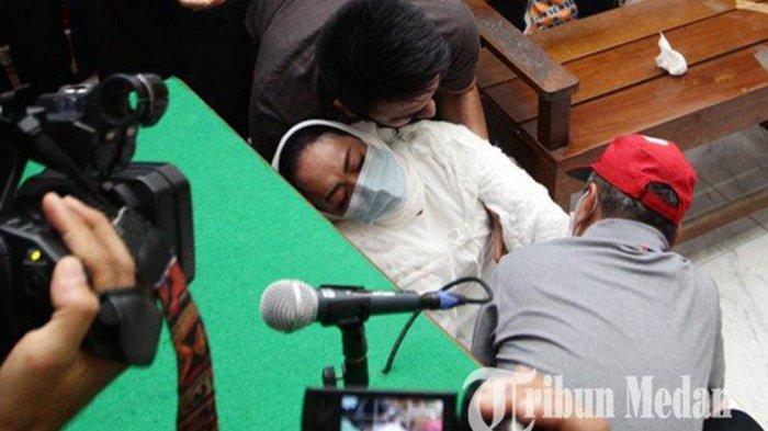 Utang Ibu Kombes Rp 70 Juta, Terdakwa Pemberi Pinjaman Pingsan Lalu Menangis Dapat Keadilan