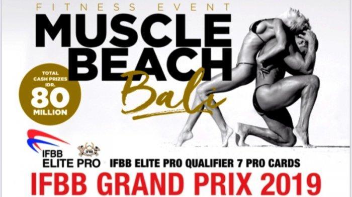 Federasi Binaraga Internasional Siap Gelar Muscle Beach Bali Grand Prix Event di Bali