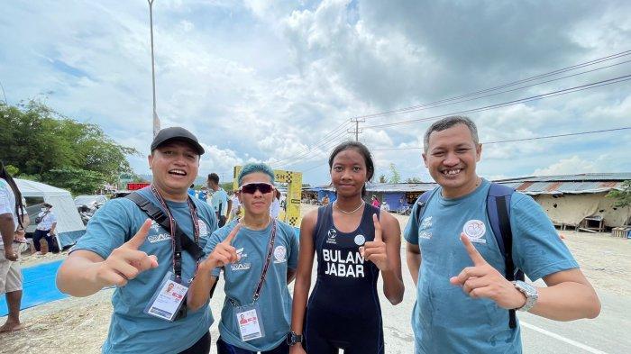 Update PON XX Papua 2021: Tim Triathlon Jawa Barat Raih Dua Medali Emas