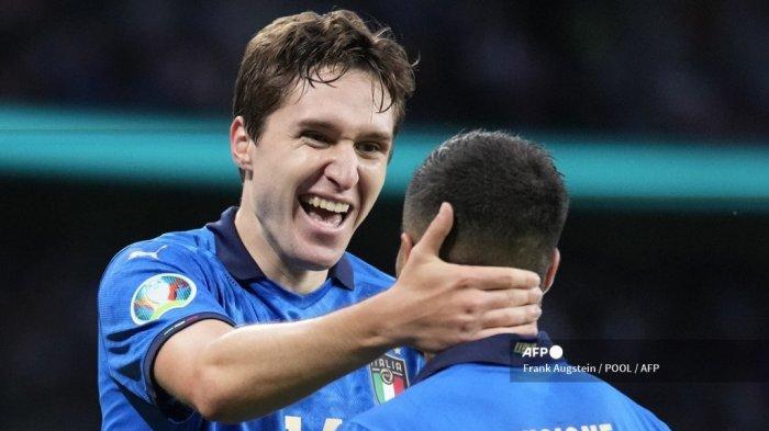 Hasil Euro 2021: Molor Hingga Babak Tos-tosan, Italia Hempaskan Spanyol dan Lolos ke Final