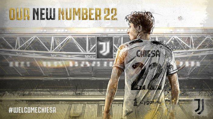 Federico Chiesa resmi menjadi bagian dari Juventus