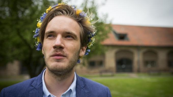 Felix Kjellberg alias PewDiePie