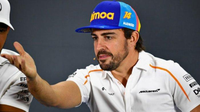 Kondisi Pembalap Formula 1 Fernando Alonso Setelah Alami Kecelakaan Sepeda di Swiss