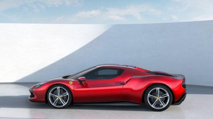 Ferrari 296 GTB PHEV Meluncur, Boyong Mesin V6