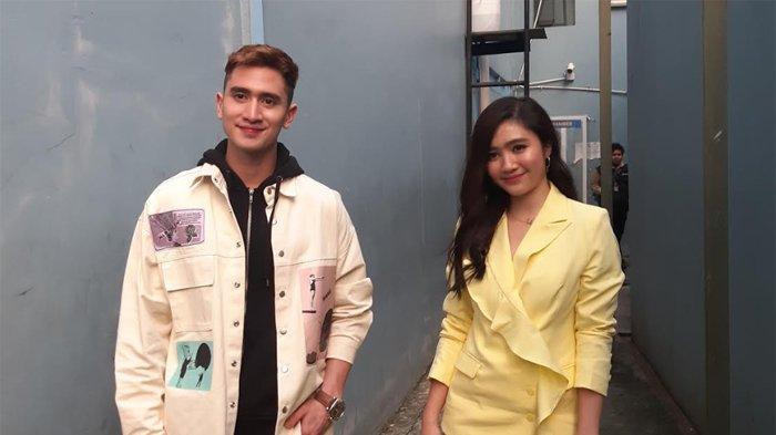 Verrell Bramasta ketika ditemui bersama Feby Rastanty, di gedung Trans TV, Jalan Kapten Tendean, Mampang Prapatan, Jakarta Selatan, Senin (20/4/2020).