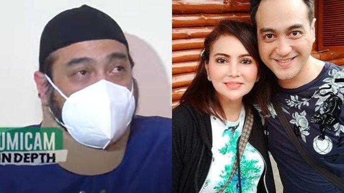 Digugat Cerai dan Dituding Akting Sakit, Ferry Irawan Menangis Sesenggukan: Saya Hanya Bisa Pasrah
