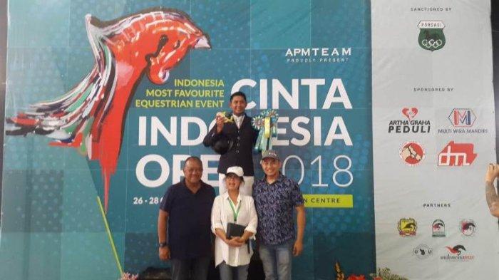 Ferry Wahyu Hadiyanto Kuasai Kelas 120 CM Open di Turnamen Cinta Indonesia Open 2018