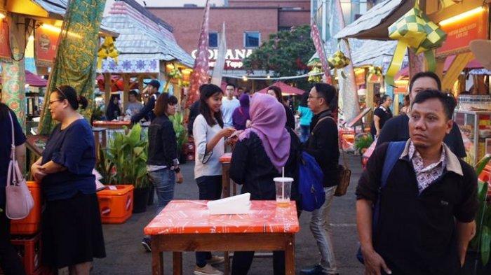 Festival Kuliner Ngabuburit di La Piazza Kelapa Gading Banyak Acaranya