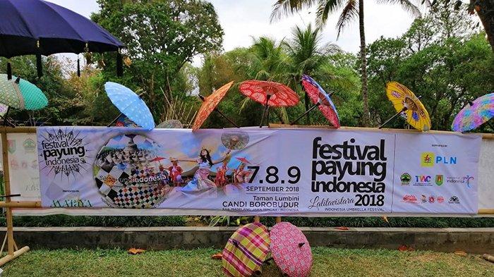 Teduhkan Keberagaman dalam Festival Payung Indonesia 2018